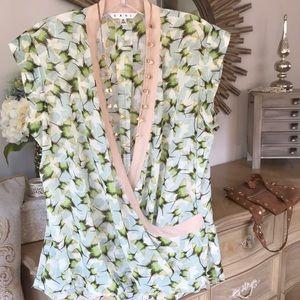 CAbi print blouse